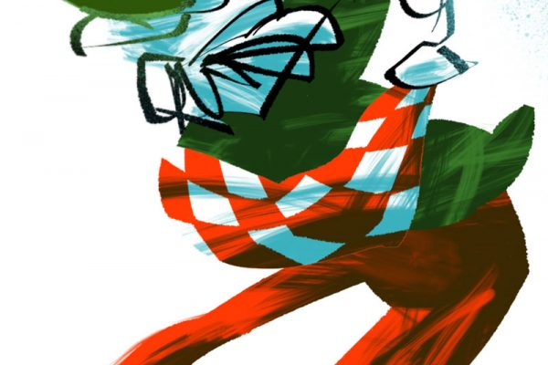 harlekiini vauhdissa, kuvittaja / illustrator Petri Suni
