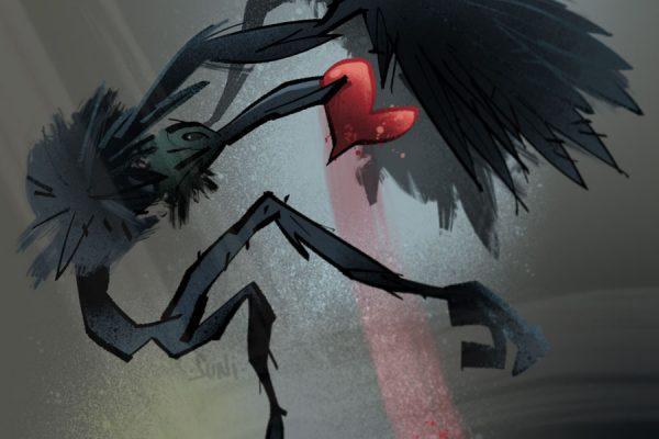 olento puree sydäntä, kuvittaja / illustrator Petri Suni