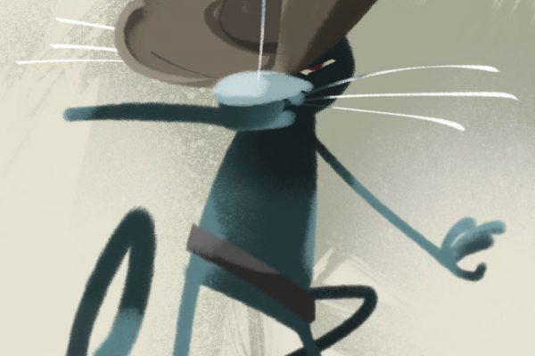 saapasjalkakissa ja miekka, kuvittaja / illustrator Petri Suni